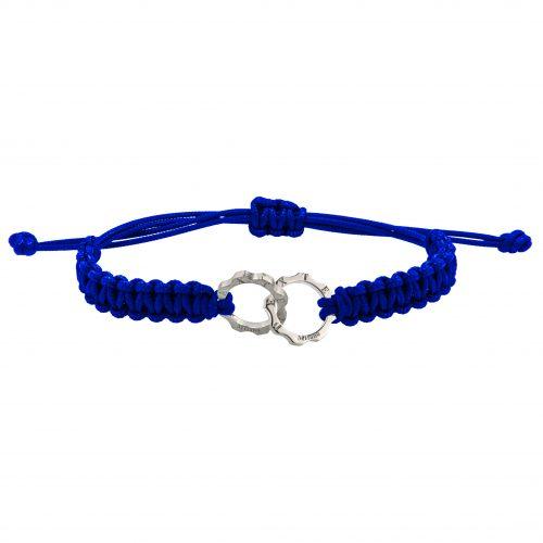 Dexter Milano armband Duo Mini kobaltblauw